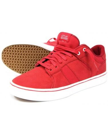 LOTEK zapatillas Fader rojo