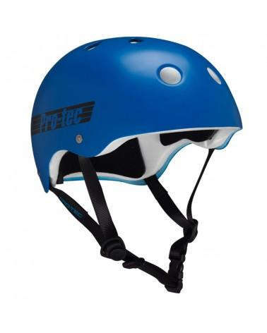 Pro-tec casco Classic azul retro M