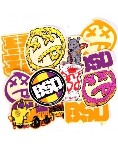 BSD pegatinas