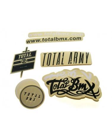 Total BMX pegatinas