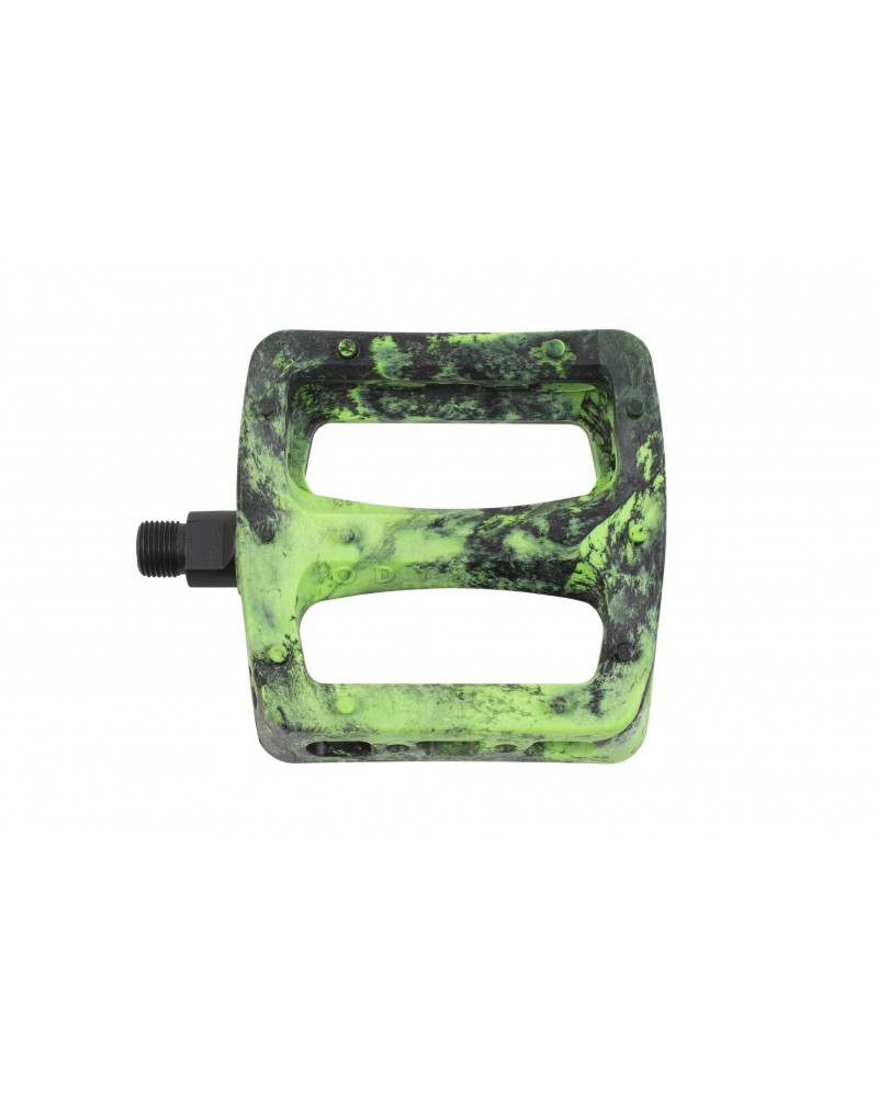 ODYSSEY PEDALES TWISTED PRO VERDE FLUOR