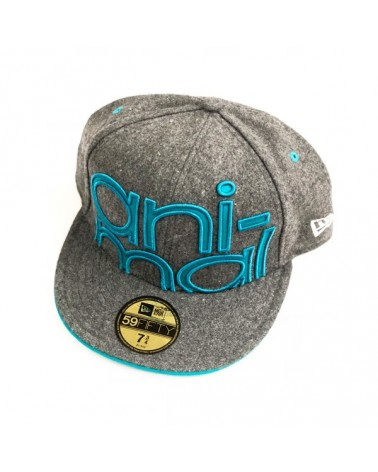 GORRA ANIMAL NEW ERA GRIS VERDE
