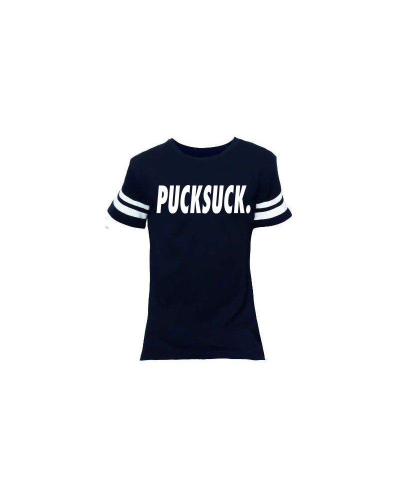 CAMISETA PUCK SUCK WHITE STRIP
