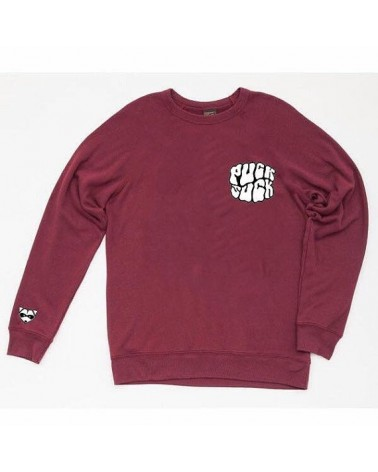 SUDADERA PUCK SUCK WINE