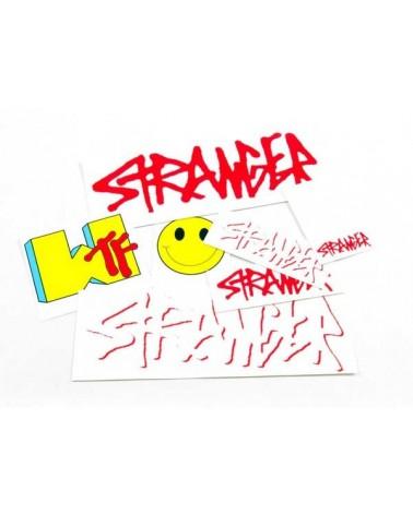 Stranger pegatinas